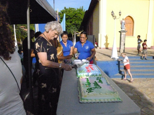 In celebration of the 14th anniversary celebration of the San Juan del Sur Biblioteca Movil